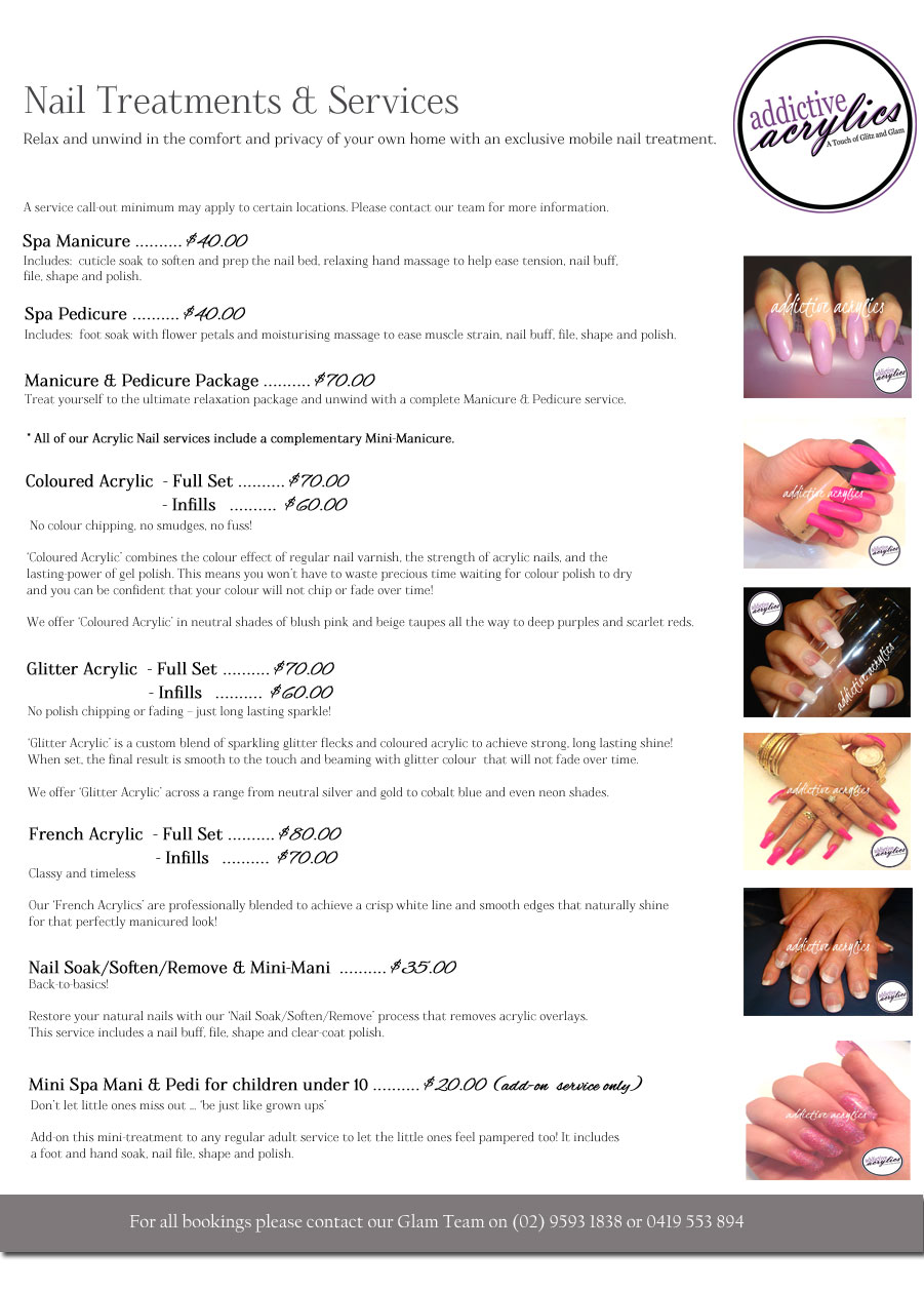 Mobile Acrylics And Nail Services A Touch Of Glitz And Glam